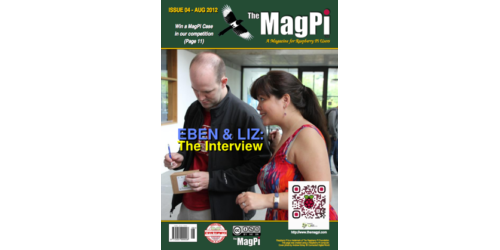 The MagPi Magazine 004 – August, 2012 (englisch)
