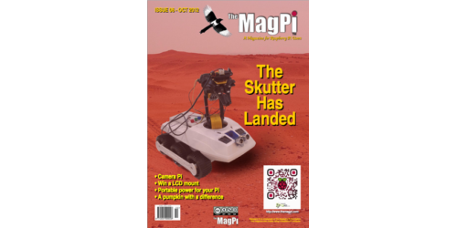 The MagPi Magazine 006 – Oktober, 2012 (englisch)