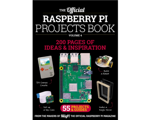 The MagPi Projects Book 4, 2018 (englisch)
